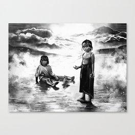 Shell Friends Canvas Print