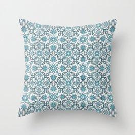 European tiles Throw Pillow