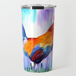Rooster and Proud Travel Mug