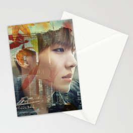 As the falling leaves Stationery Cards