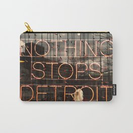 Nothing Stops Detroit Carry-All Pouch