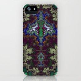 Fractal Stingray iPhone Case