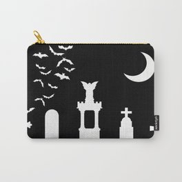 The Graveyard By Moonlight Carry-All Pouch