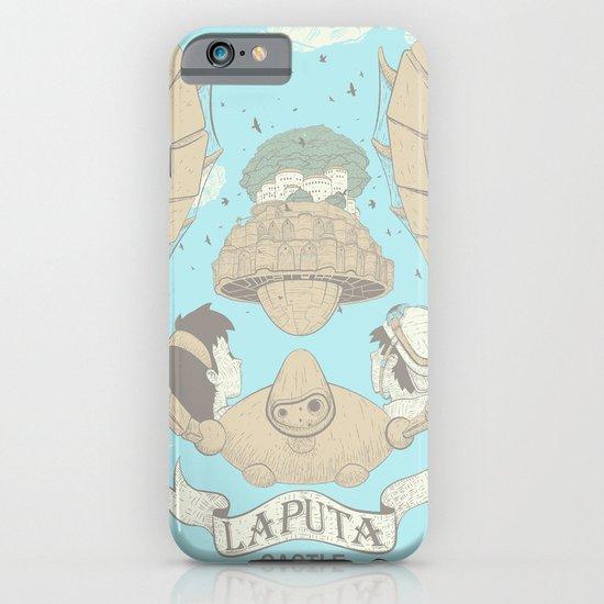 Laputa Castle in the Sky iPhone & iPod Case
