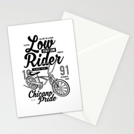 Low Rider bike Stationery Cards