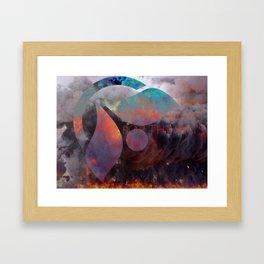 NEA Up in Smoke Framed Art Print
