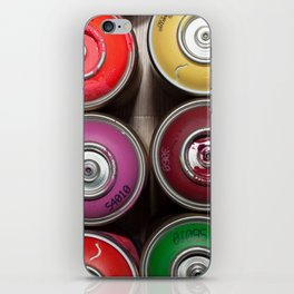 SPRAY CANS 3 iPhone Skin