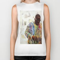 biggie Biker Tanks featuring Biggie by Katy Hirschfeld