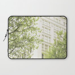 green in the grey Laptop Sleeve