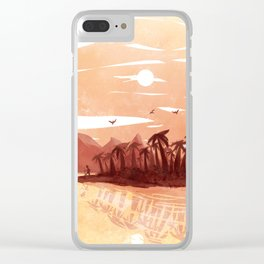 Maybe Someday Clear iPhone Case