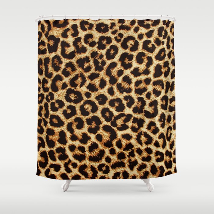 ReAL LeOparD Shower Curtain