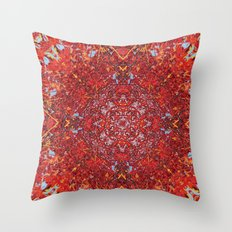 Internal Kaleidoscopic Daze-2 Throw Pillow