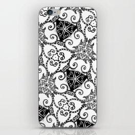 Candy Cane Tangle iPhone Skin