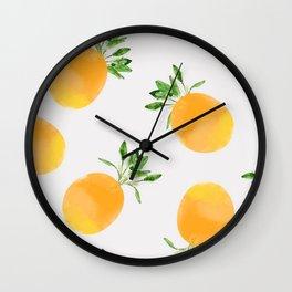 Citrus Paradise Wall Clock