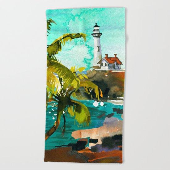 Seascape #4 Beach Towel