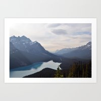 beautifuls landscape Art Print