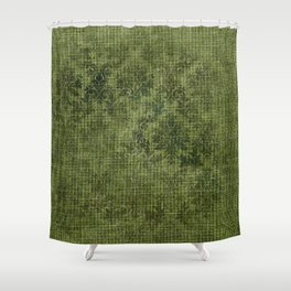 Aged Damask Texture 8 Shower Curtain
