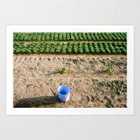 farm Art Prints featuring Farm  by Eva Montauk
