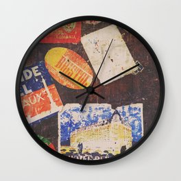 AROUND THE WORLD / 2 Wall Clock