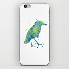 Crow  iPhone Skin