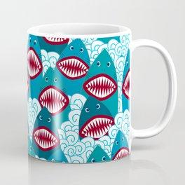 Angry Shark Coffee Mug