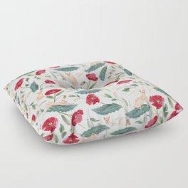 Ramona Poppy off-white Floor Pillow