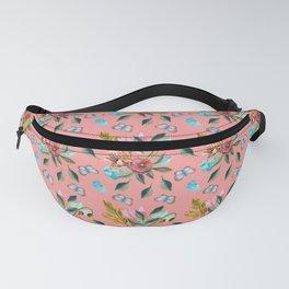 Retro Bouquet & Butterflies Fanny Pack