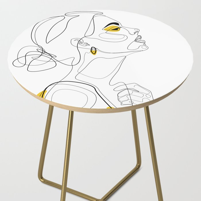 Color Beauty Side Table