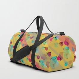 Pigs In Rainbow Duffle Bag
