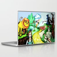 oz Laptop & iPad Skins featuring OZ by Jamie Clayton