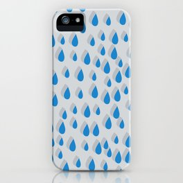 3D Water Drops iPhone Case