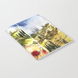Tuscany Notebook