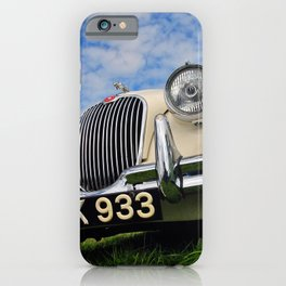 Jaguar Classic Vintage Motor Car iPhone Case