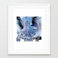 fairy Framed Art Prints featuring Fairy  by nicky2342