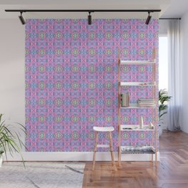 Swirl Heart Pattern Wall Mural