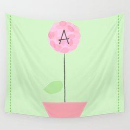 Flower A Wall Tapestry