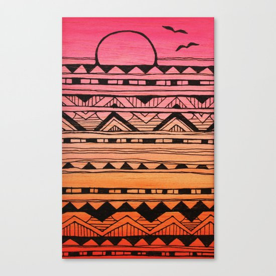 Surf Tribe Canvas Print