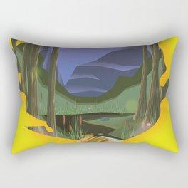 sierra leone Rectangular Pillow