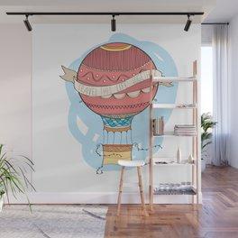 Air balloon Wall Mural