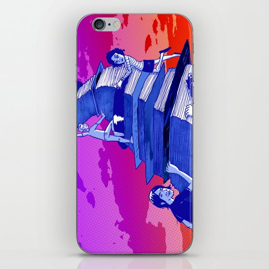 """Musicians Going Solo"" by Dmitri Jackson iPhone Skin"