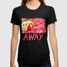 Let's Run Away Horse T-shirt