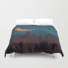 Those Summer Nights... Duvet Cover