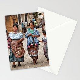 Sunday morning in Guatemala Stationery Cards