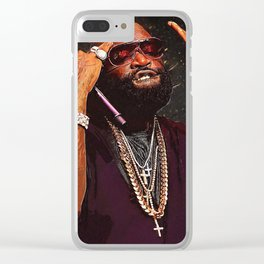 Rick Ross Clear iPhone Case