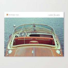 Pantone: Lake Siljan Canvas Print
