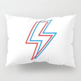 3D Lightening Bolt Pillow Sham