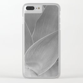 Agave Succulent Photographic Print Clear iPhone Case