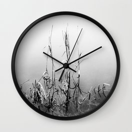 Echoes Of Reeds 1 Wall Clock