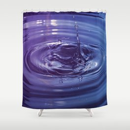 DROPPED  Shower Curtain