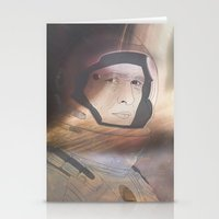 interstellar Stationery Cards featuring Interstellar by Itxaso Beistegui Illustrations